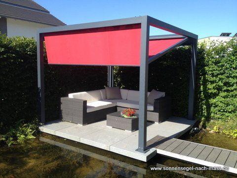 Balkonmarkisen auch die haben wir im Angebot wie hier mit kleine - auswahl materialien terrassenuberdachung