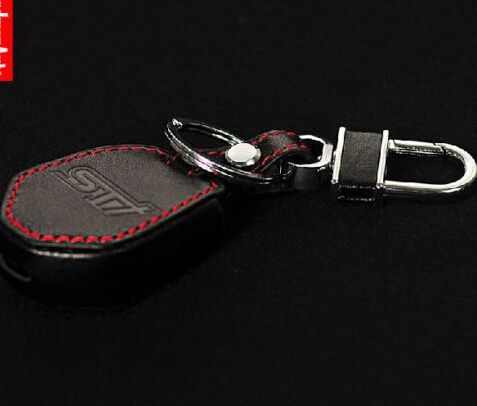 Car Leather Remote Key Fob Case Holder Cover For Subaru Xv Forester Outback Interior Accessories Accessories Leather