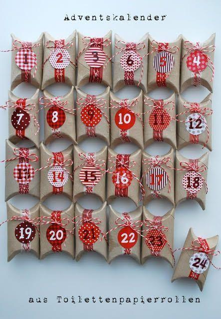 Adventskalender basteln - 10 kreative Bastelideen