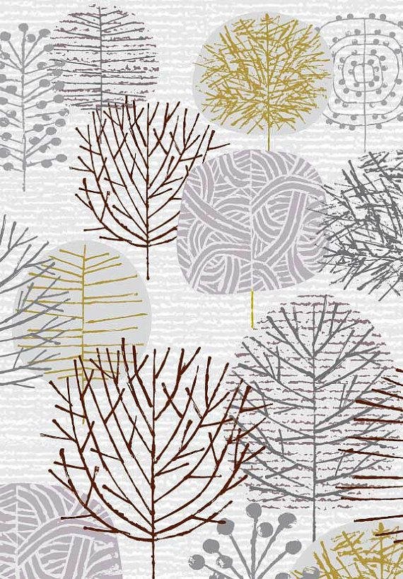 I Love Winter Trees, limited edition giclee print   HOUSE ...