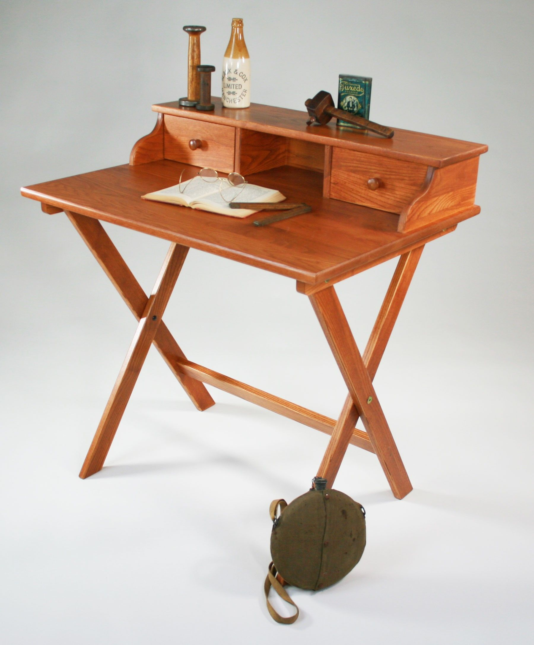 Campaign Desk Might Work In A Small E Via Manchester Wood Made