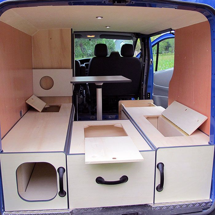 Renault trafic am nag recherche google camion for Amenagement interieur camping car