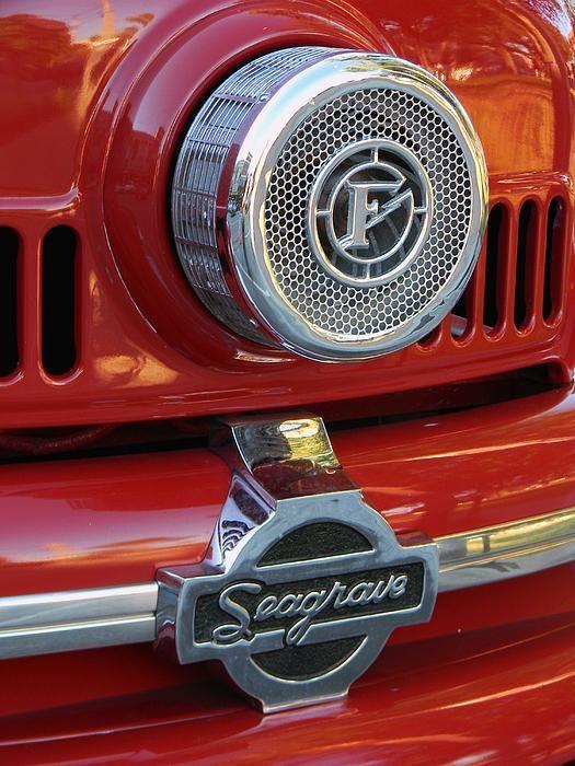 Seagrave Fire Apparatus >> Seagrave Closeup by Warren Thompson | Fire trucks, Fire ...