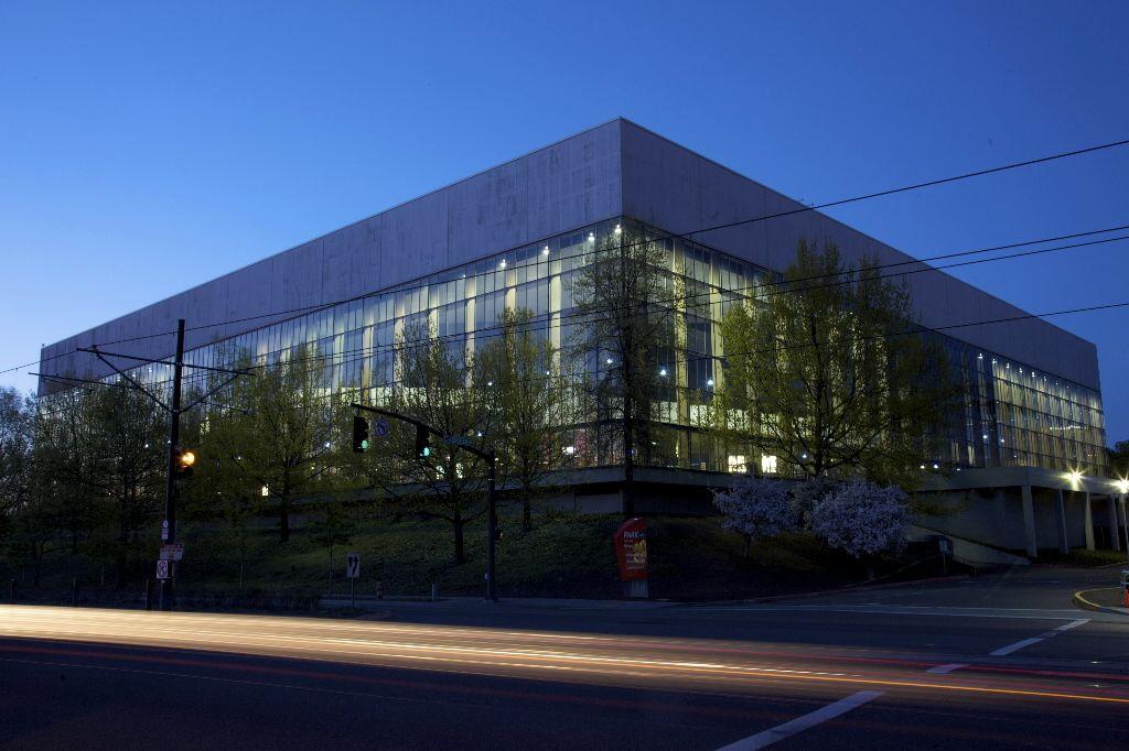 Portland Vetrans Memorial Coliseum - former home of my Portland Trailblazers