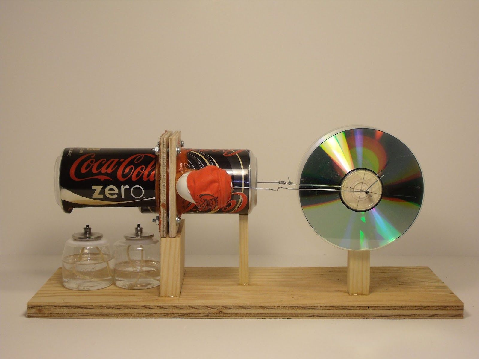 Diy Solar Panels Soda Cans Pop Can Stirling Engine Plans Eleven Stirling Engine