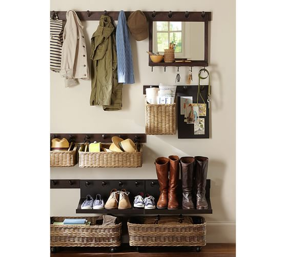 Decorative Ideas For Entryway Organization: Build Your Own - Gabrielle System Components