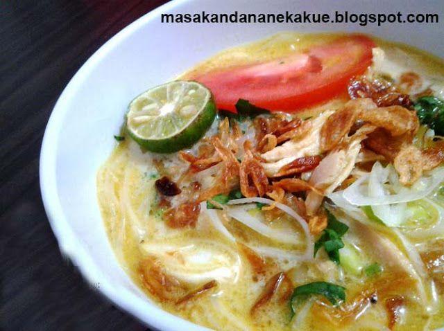 Resep Soto Ayam Medan Maknyus Resep Masakan Masakan Resep
