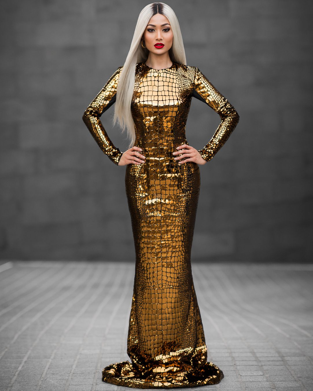 6 Ways to Look Glamorous in Gold | Micah gianneli, Gold gown and ...