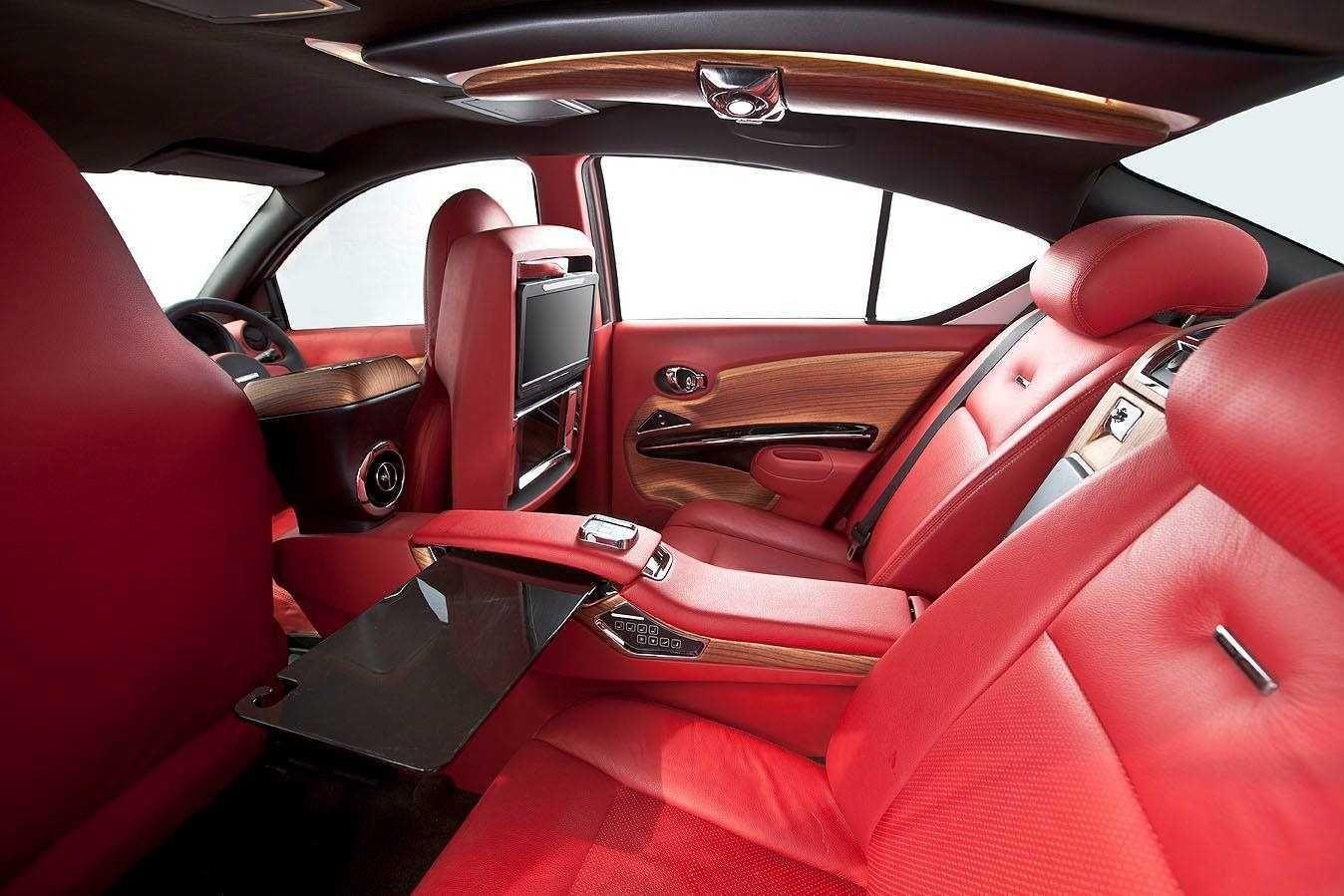 Nissan Versa Sedans Interior Rolls Royce by DC Designs Red Leather