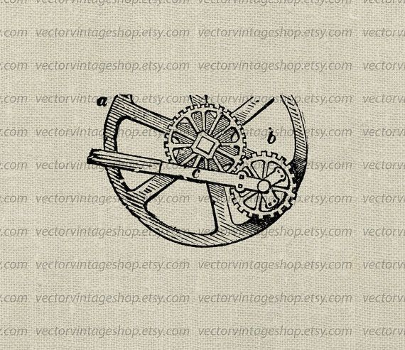Industrial gears vector graphic instant download sun and planet industrial gears vector graphic instant download sun and planet wheel diagram steampunk digital clipart old illustration web1723aa ccuart Images