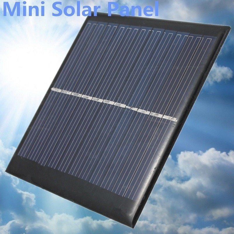 Mini 6v 1w Solar Power Panel Module Diy For Light Cell Phone Chargers Portable Solar Panels Solar Power Panels Best Solar Panels