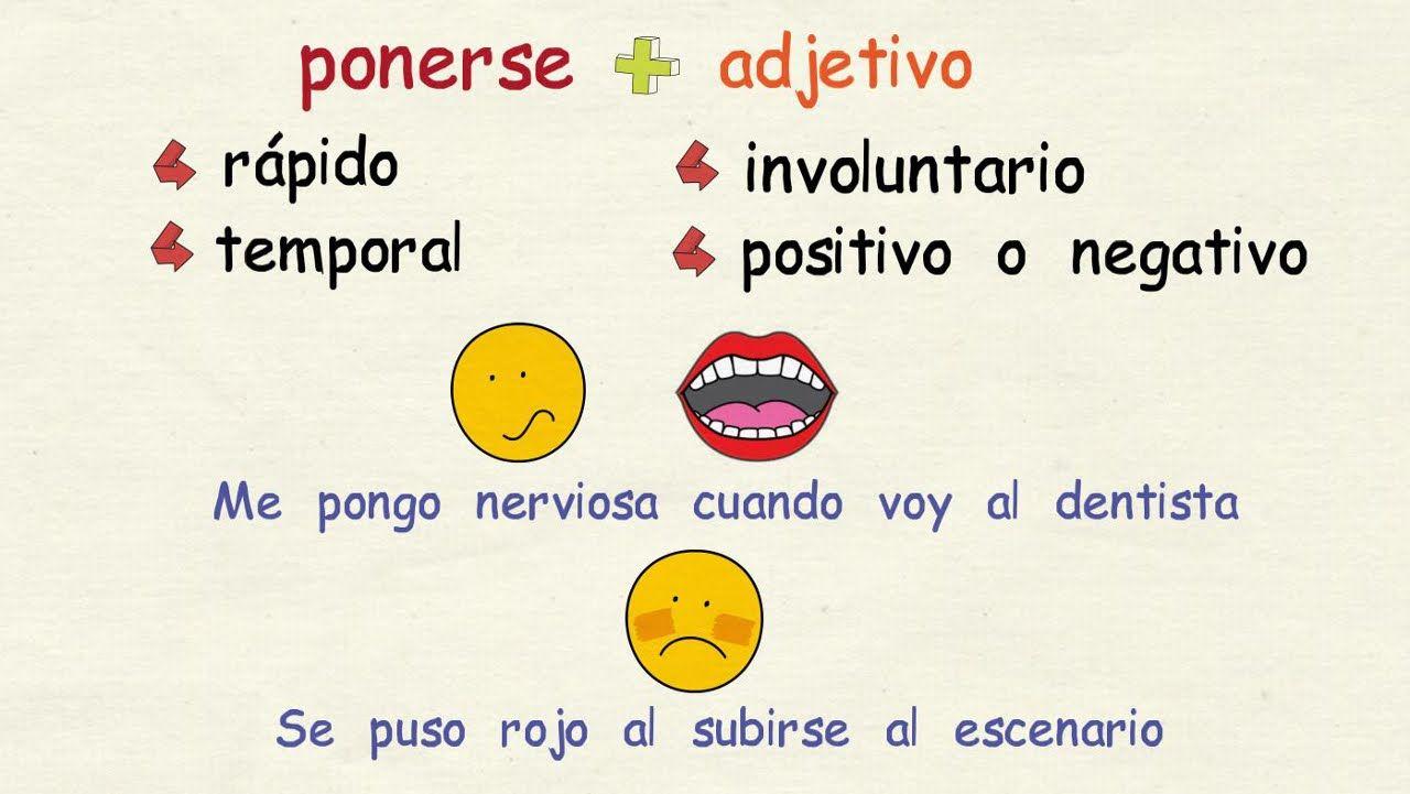Aprender Espanol Verbos De Cambio Nivel Avanzado Aprender