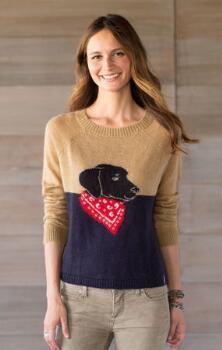 Usted va a hacer feliz todo el invierno en estas juguetonamente con dibujos Woolrich & # 174;  suéteres de mezcla de mohair.