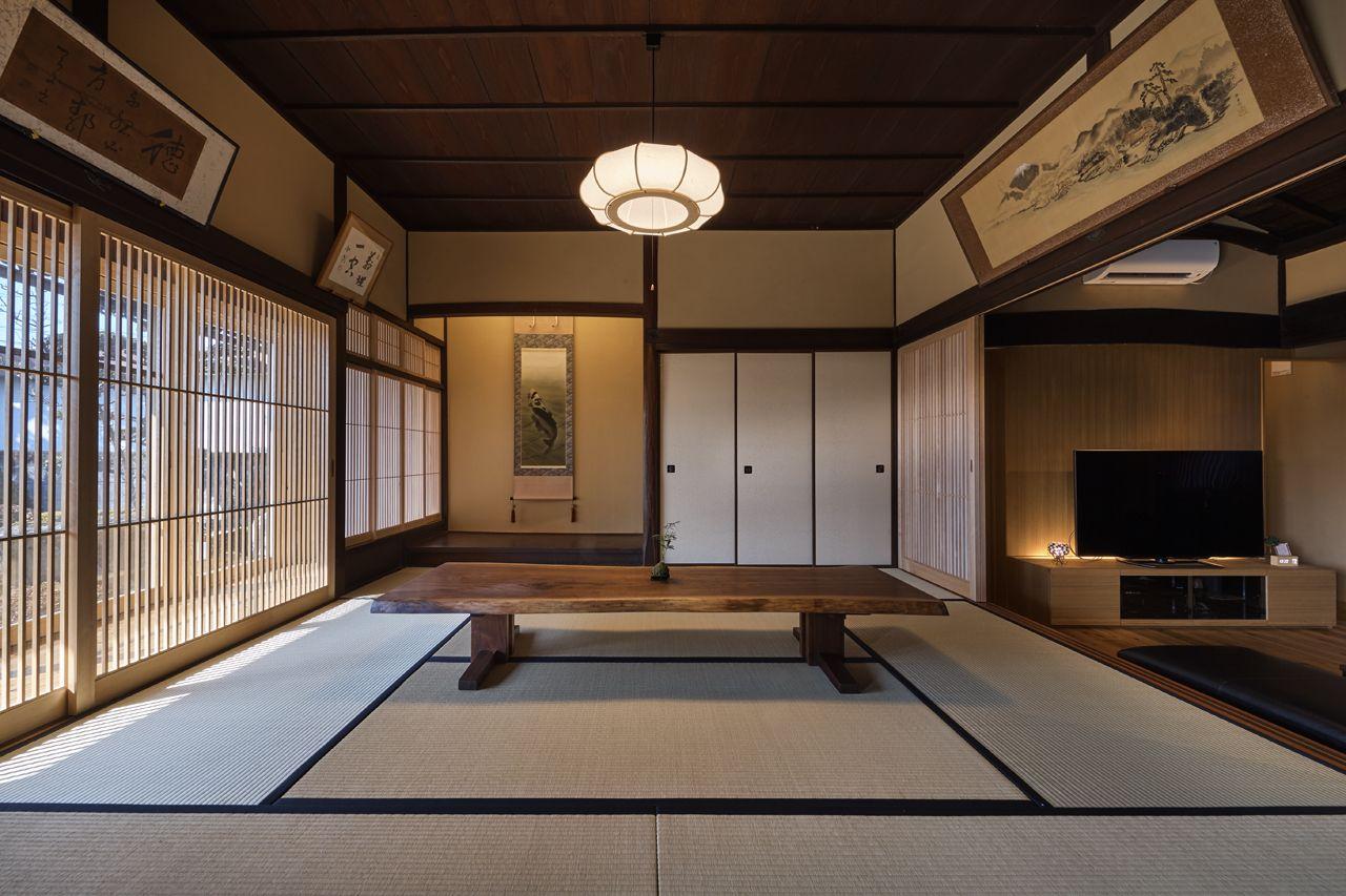 Works 京都の設計事務所 空間工房 用舎行蔵 和のインテリア 古