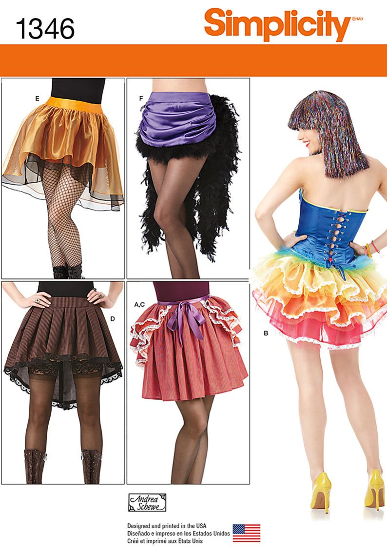 Look No Further For Hard To Find DIY Costume Skirts And Bustles These Pieces