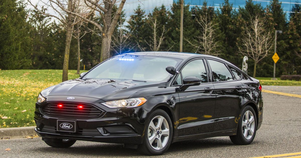 Ford S Latest Police Hybrid Is Built For Efficiency Not Speed