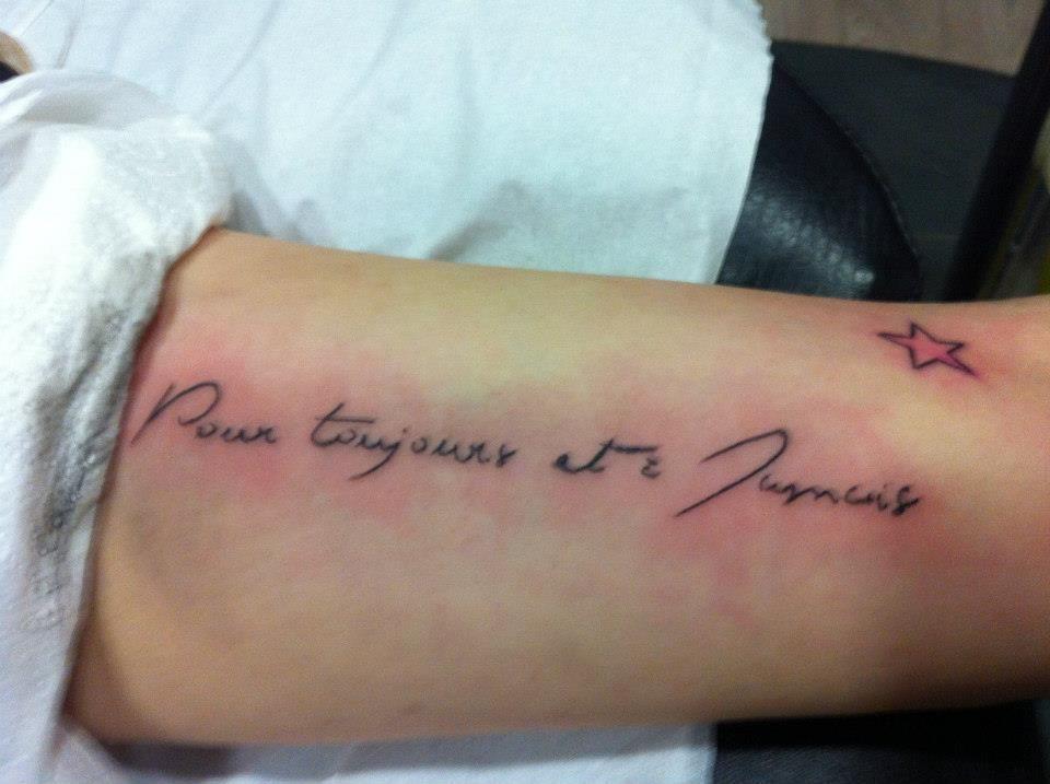 Pour toujours et à jamais
