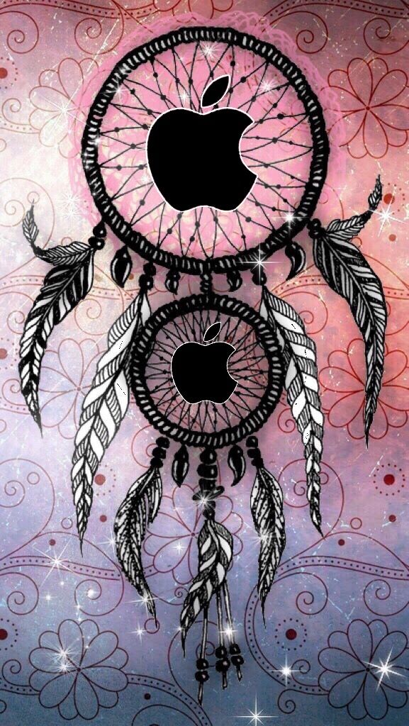Apple Dreamcatcher In 2019 Apple Logo Wallpaper Iphone