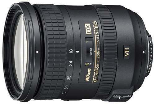 Lente Nikon 18-200mm F/3.5-5.6 G Ed Vr Ii Af-s Dx Nikkor