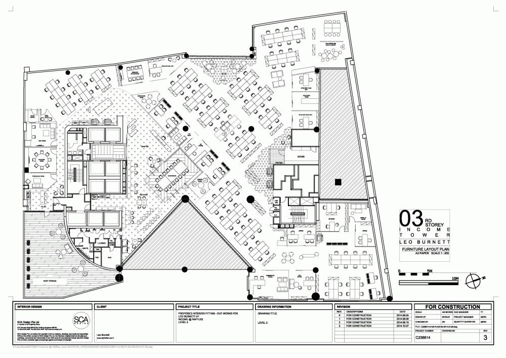 Gallery Of Leo Burnett Singapore Sca Design 24 Floor Plan Design Interior Design Singapore Interior Architecture Sketch