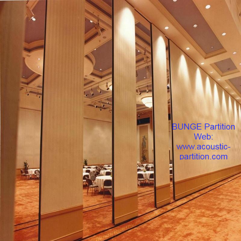 Bunge Sound Proof Sliding Movable Partition Walls System Is Made