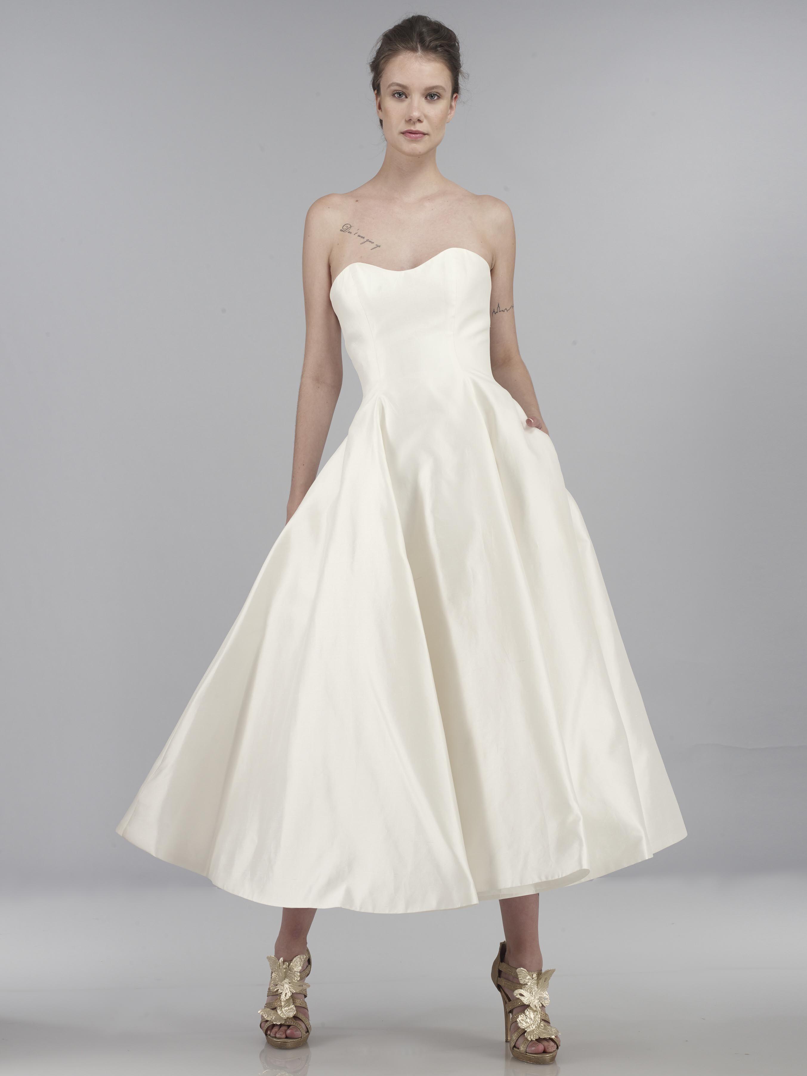 Silk Shantung Wedding Dress Ali