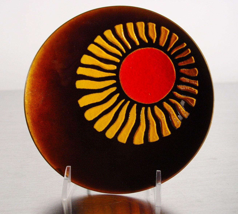 De Passille Sylvestre Enamel Tray Canadian Modernist