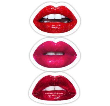 Glitter Lips Xoxo Sticker By Star Sighs Glitter Lips Lips