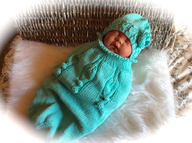 pucksack gestrickt 191 individuelle produkte aus der kategorie baby dawanda baby stricken. Black Bedroom Furniture Sets. Home Design Ideas