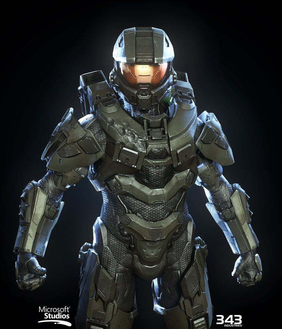 Halo 4 master chief textures materials kyle hefley on - Halo 4 pictures ...