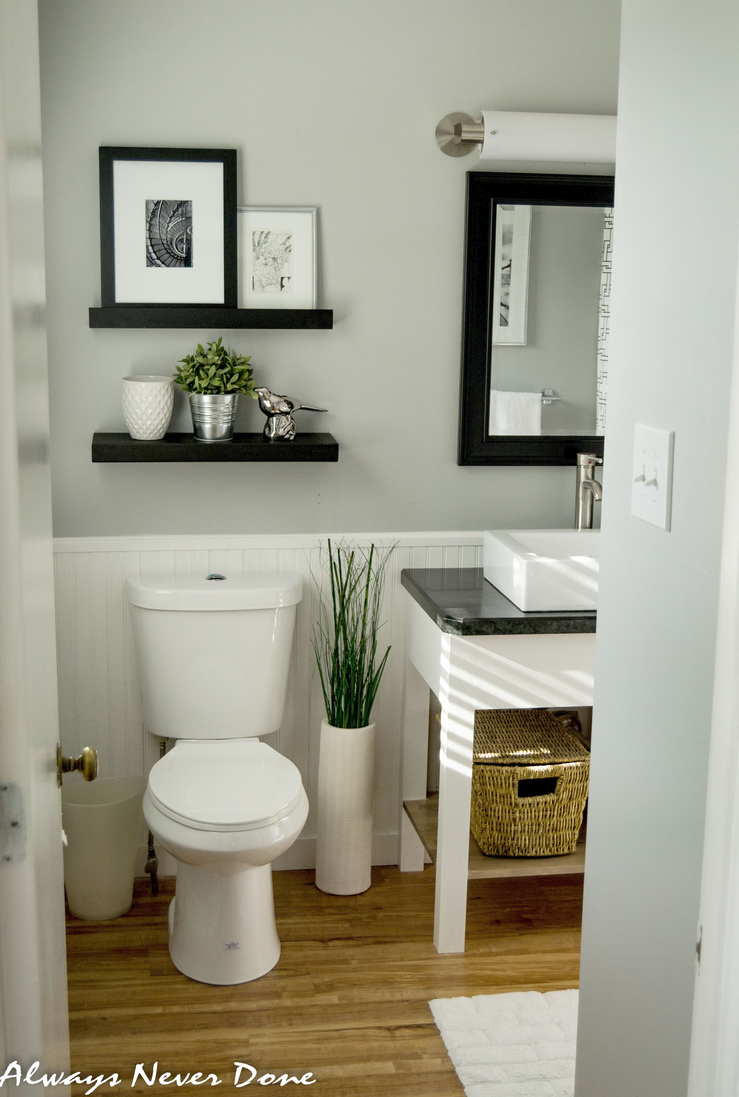 Serene Small Master Bathroom Renovation Done In A Thrifty Way