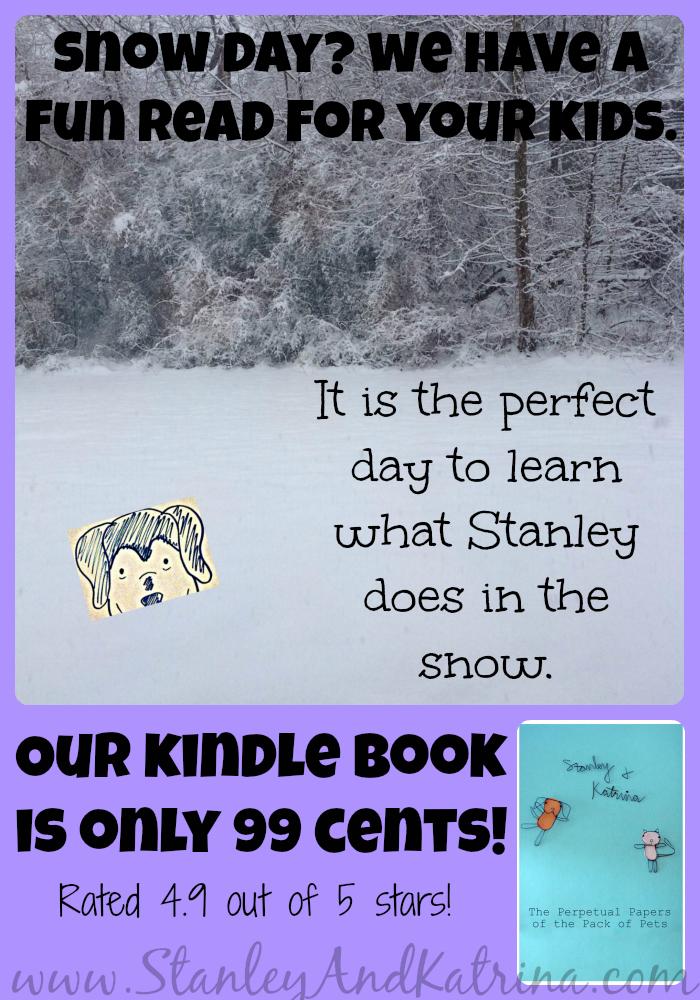 http://www.amazon.com/Perpetual-Papers-Stanley-Katrina-ebook/dp/B00B0MN89C #snowday #kidlit #snowdayreading