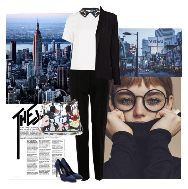 """""""I can imagine what its like..."""" by fashionista-jaygee ❤ liked on Polyvore featuring Dolce&Gabbana, Sportmax, American Vintage, Rupert Sanderson and Milly"""
