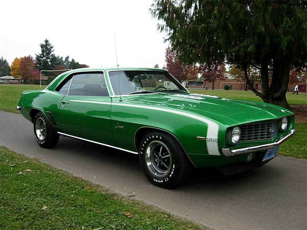 1969 CHEVROLET CAMARO SS 2 DOOR COUPE – Barrett-Jackson Auction Company – World's Greatest Collector Car Auctions