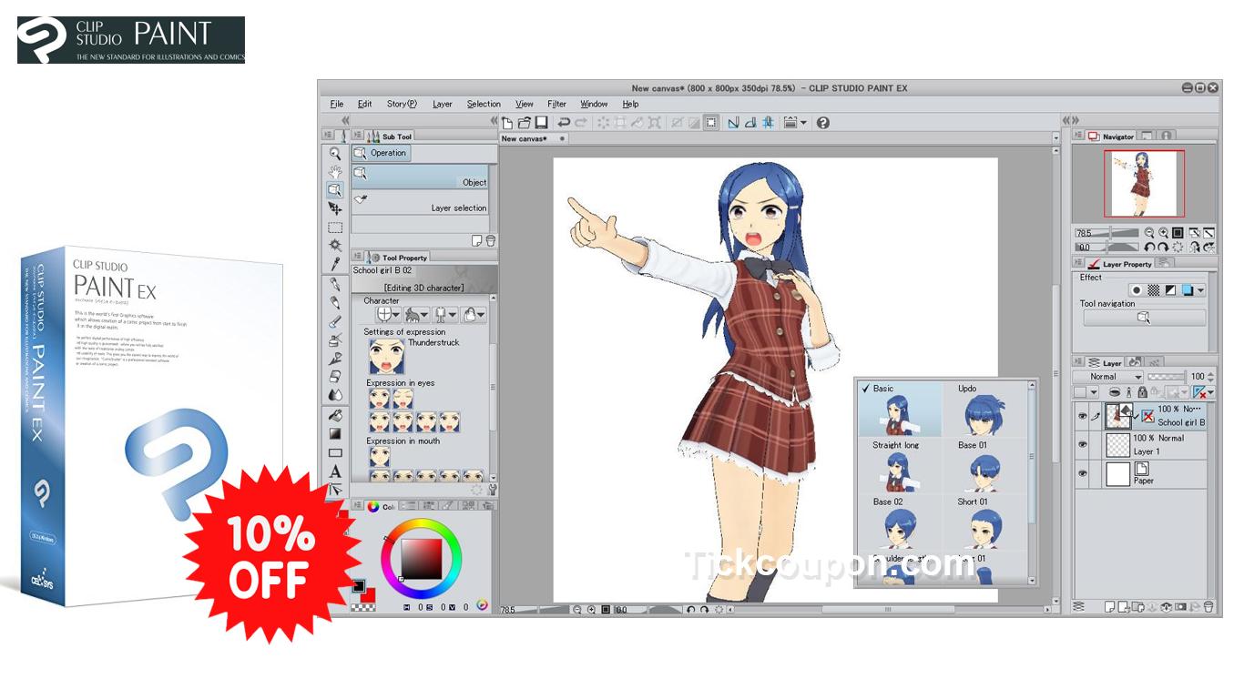 clip studio paint mac requirements