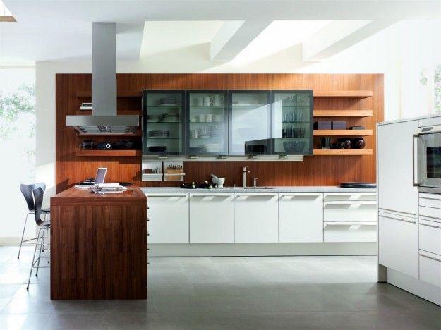 Cucine di lusso moderne - Cucina di lusso moderna, elegante e ...