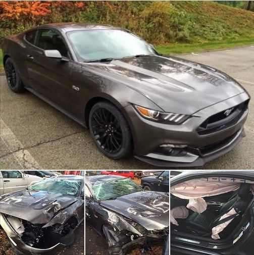 2015 Mustang Totaled In DUI Holiday Crash, Driver Walks Away