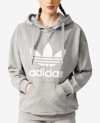 ADIDAS adidas Originals Relaxed French Terry Logo Hoodie. #adidas #cloth # #adidasclothes