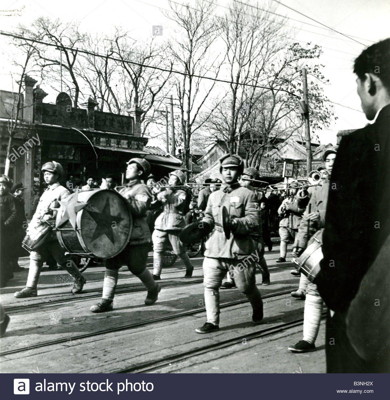 Peking Chinese Communist Troops Enter Peking Now Beijing In 1949
