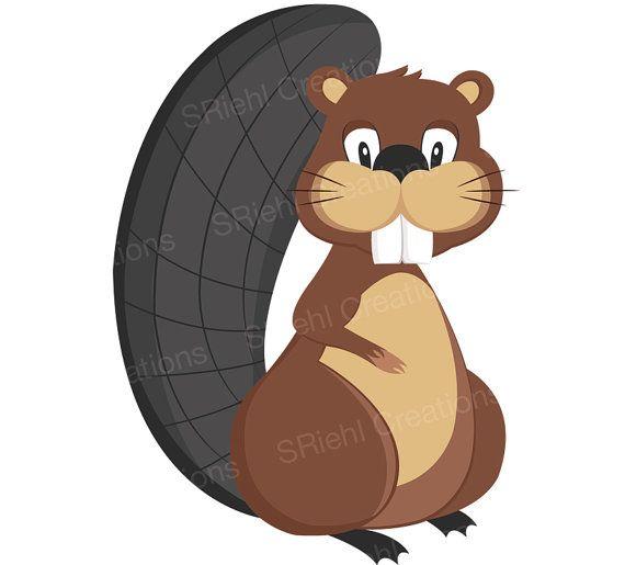 beaver clipart woodland baby shower beaver by sriehlcreations rh pinterest com beaver clip art black and white free beaver clipart