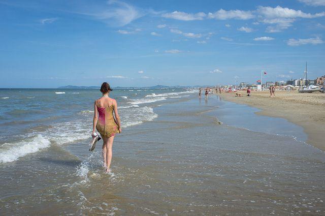 """Cool Rimini beach walk"" by @AsgeirPedersen, via Flickr"