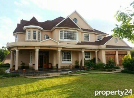 6 Bedroom House For Sale In Runda For Ksh 150 000 000 With Web Reference 103089928 Property24 Kenya 6 Bedroom House Mansion Designs House Styles