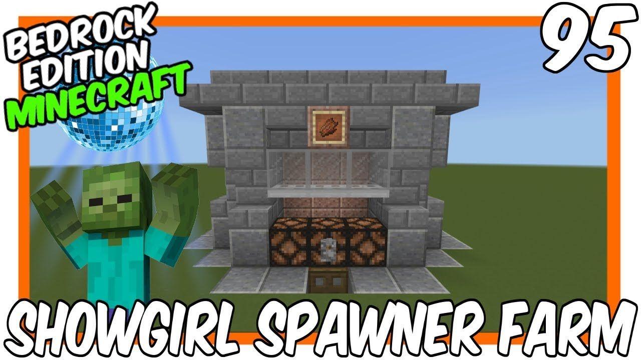 Showgirl Zombie Spawner Farm Bedrock Edition Minecraft