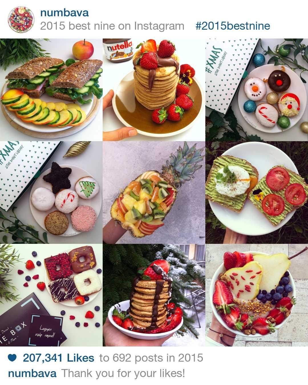 2015bestnine - numbava's best nine on Instagram in 2015