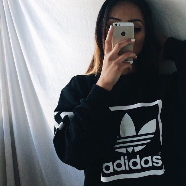 girls in adidas tumblr