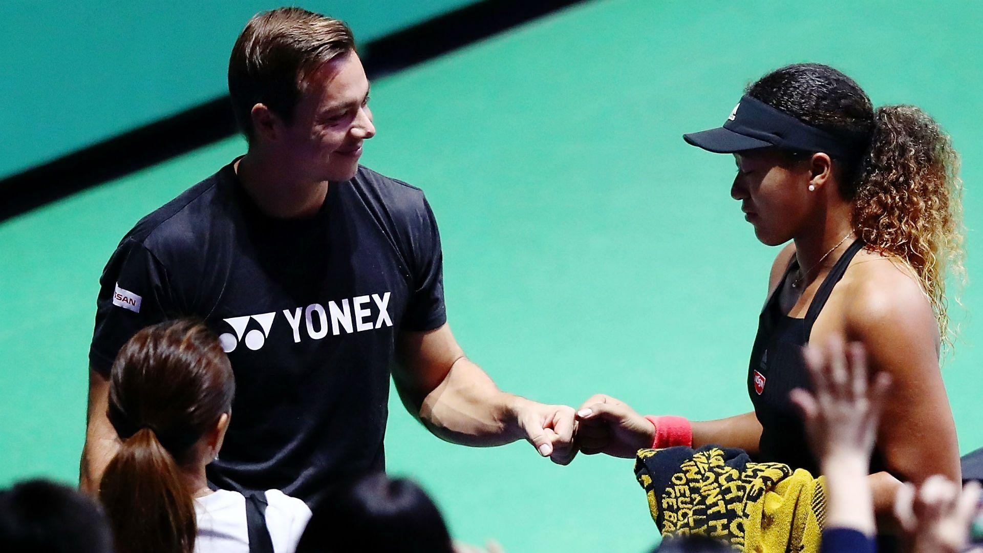 Naomi Osaka S Coach Sascha Bajin Named Wta Coach Of The Year Tennis Players Female Ladies Golf Tennis Stars