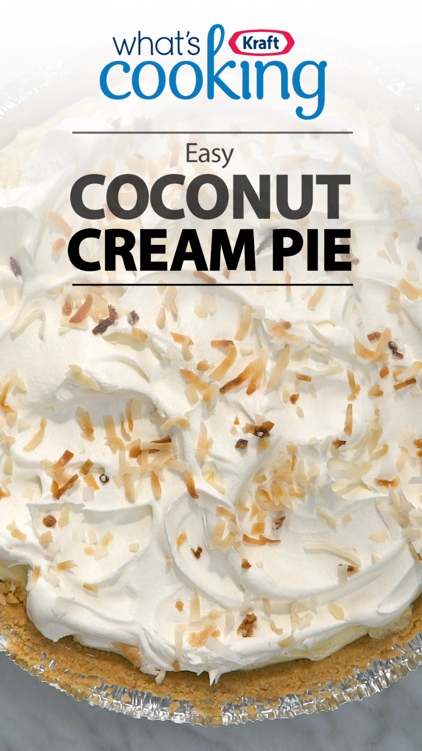 Can you make a delicious coconut cream pie in 15 min, with
