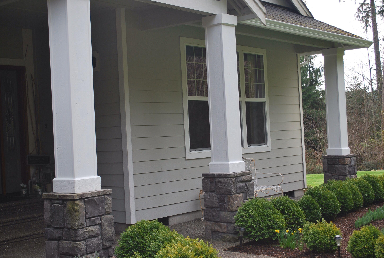 Painted front porches front porch pillars front porch posts front porch design