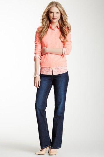 Barbara modern bootcut jeans