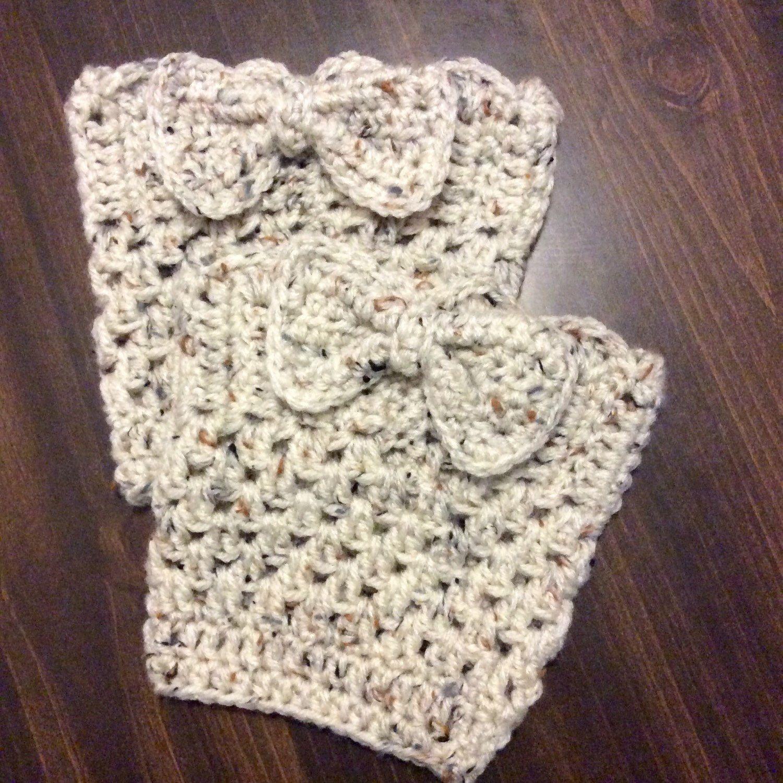 Homemade crochet boot cuffs | Crochet For Your Piggies & Leggies ...